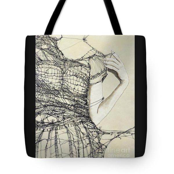 Unravel #2 Tote Bag
