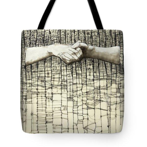 Unravel #3 Tote Bag