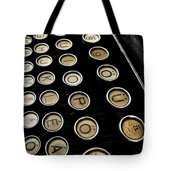 Unsaid Words Tote Bag