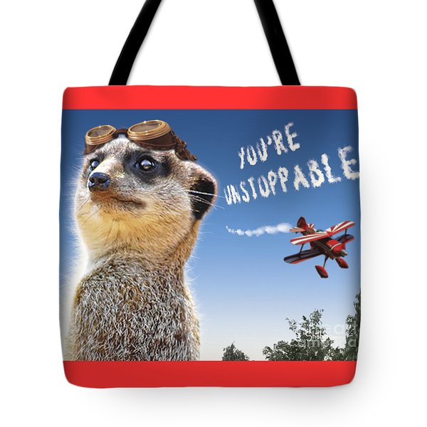 Unstoppable Tote Bag