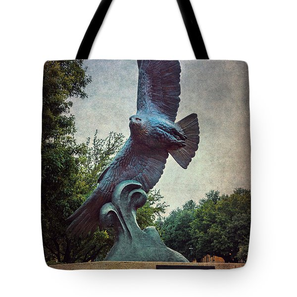 Unt Eagle In High Places Tote Bag