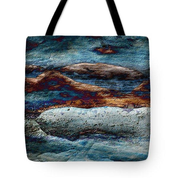Untamed Sea 2 Tote Bag by Carol Cavalaris
