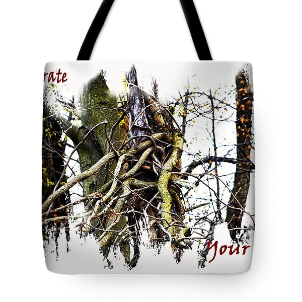 Untangle Your Knots Tote Bag