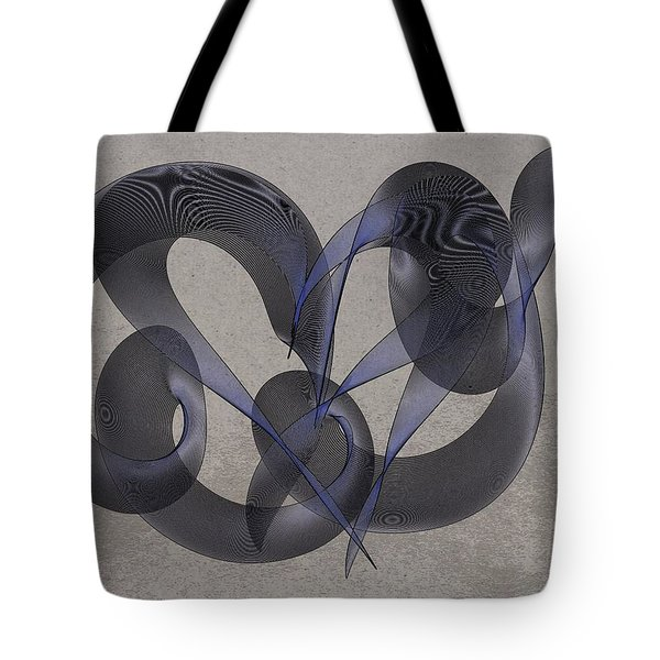 Untangled Hearts Tote Bag