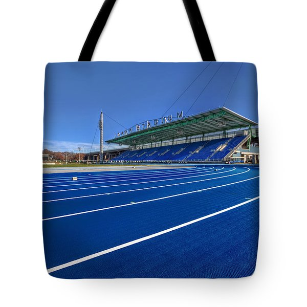 Until The Race Is Run Tote Bag by Evelina Kremsdorf