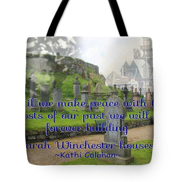 Until We Make Peace Tote Bag