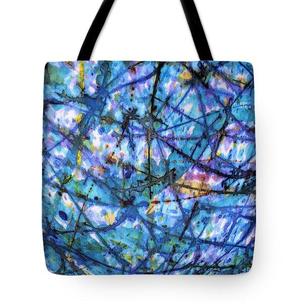 Homage To Van Gogh Tote Bag