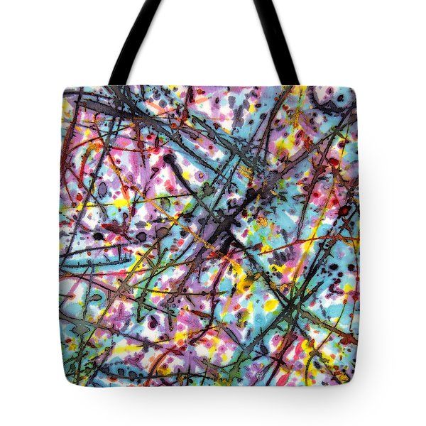 The Mural Goes On And On Tote Bag
