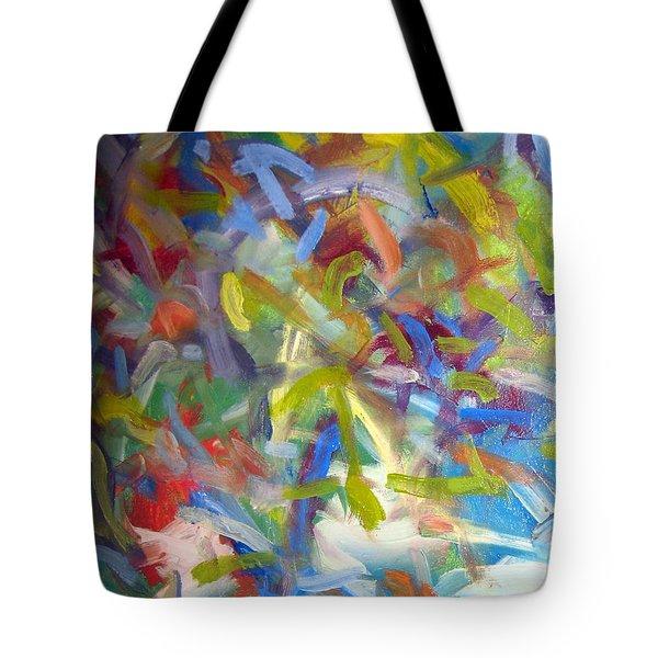 Untitled #1 Tote Bag by Steven Miller