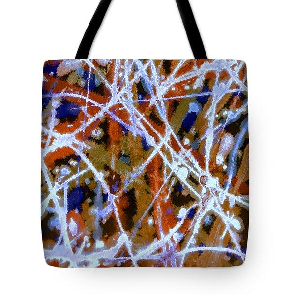 Autumn Rhythm Tote Bag
