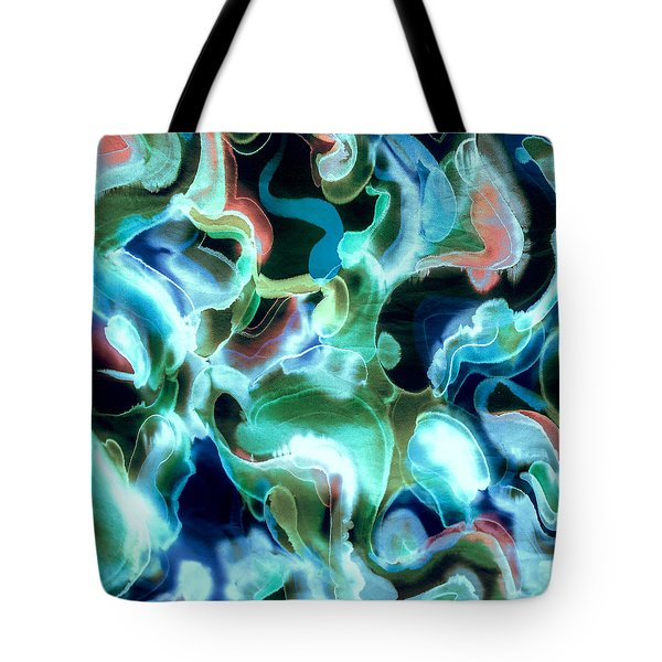 Lets Swim To The Moon Tote Bag