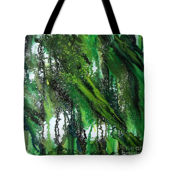 Forest Of Duars Tote Bag