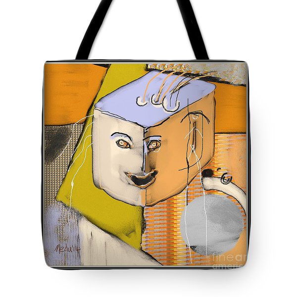 Untitled 357 Tote Bag by Nedunseralathan R