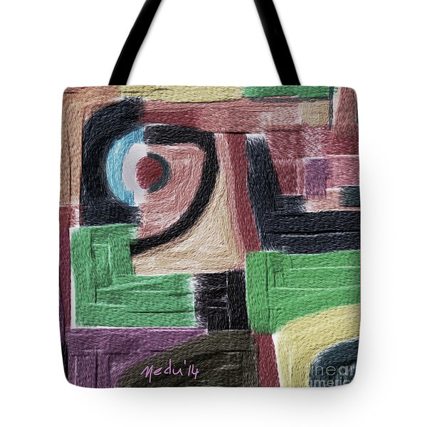 Untitled 449 Tote Bag by Nedunseralathan R