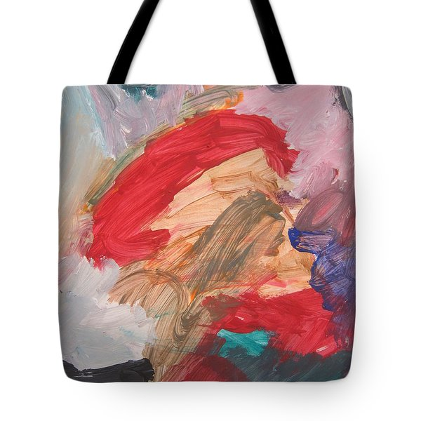 Untitled #56  Original Painting Tote Bag