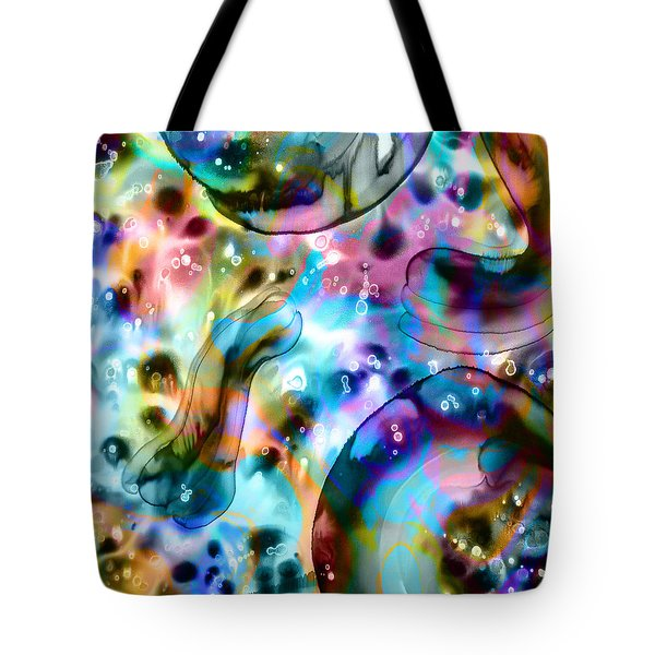Molecules And Mankind Tote Bag