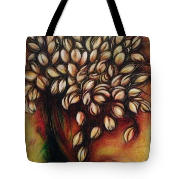 Untitled Floral Gift Tote Bag by Juliann Sweet
