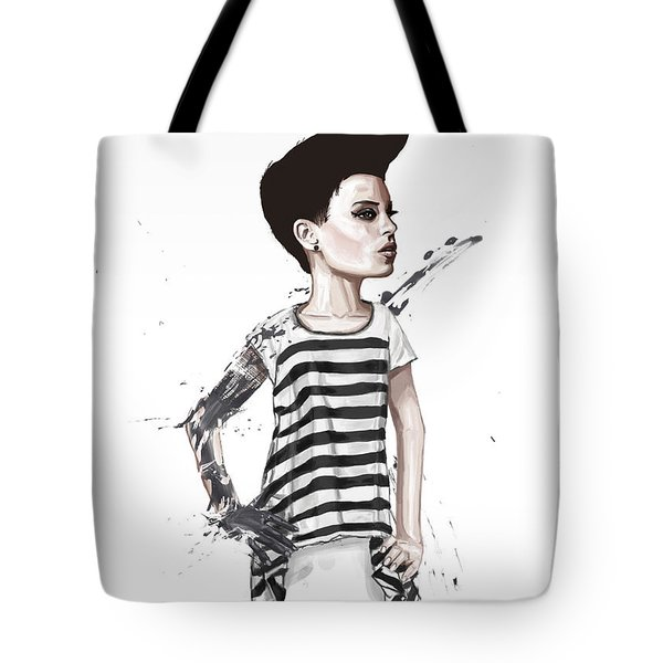 untitled II Tote Bag by Balazs Solti
