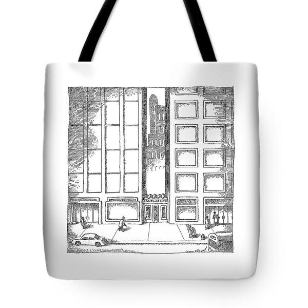 New Yorker December 12th, 2005 Tote Bag