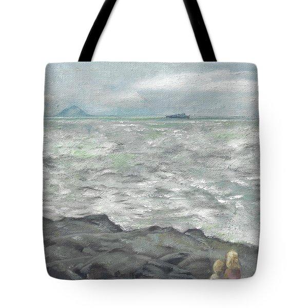 Untitled Seascape Tote Bag