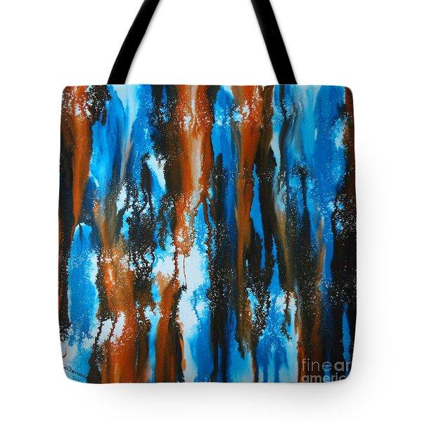 Winter Vs. Summer Tote Bag