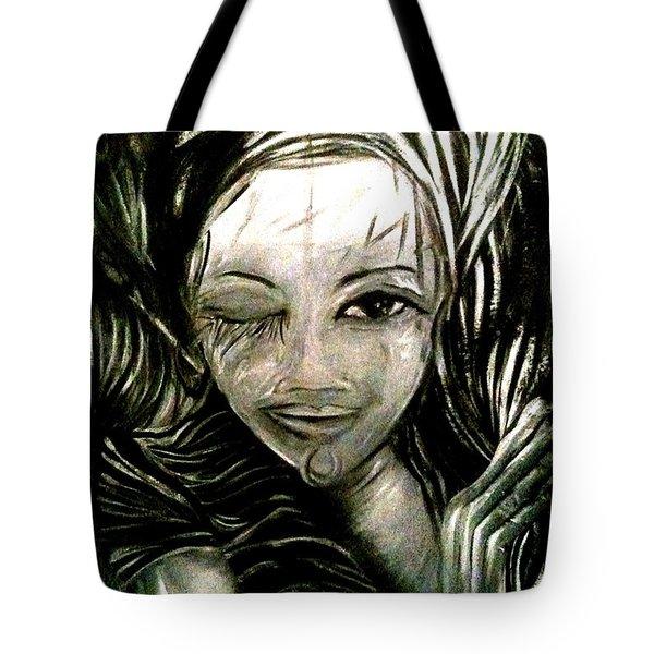 Untitled -the Seer Tote Bag by Juliann Sweet