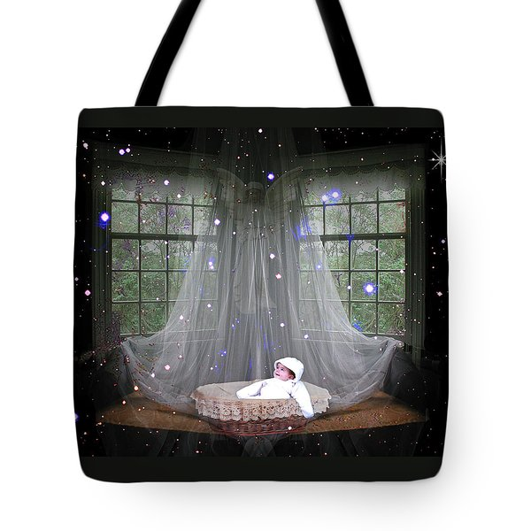 Unto Us A Child Is Born Tote Bag by Paula Ayers