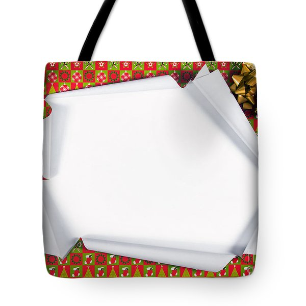 Unwrapping Gifts Tote Bag
