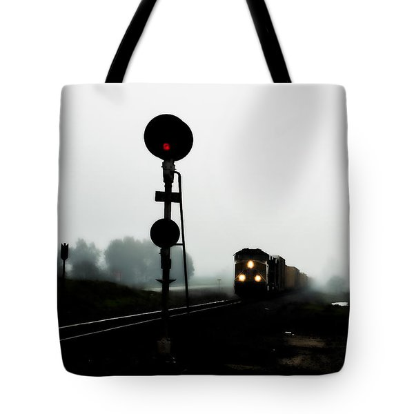 Tote Bag featuring the photograph Up 8057 by Jim Thompson