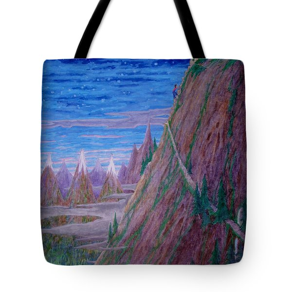 Up Again I Went ... Tote Bag