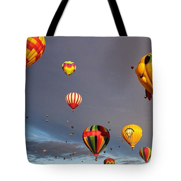 Up And Away Tote Bag by Dave Files