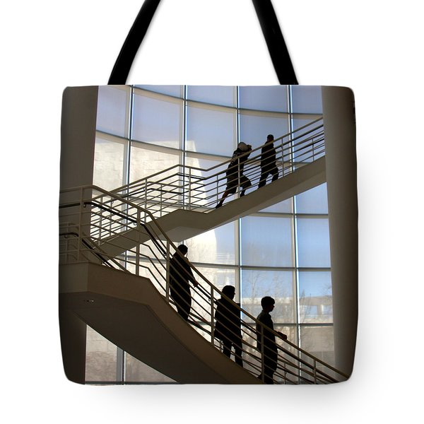 Up And Down Tote Bag by Art Block Collections