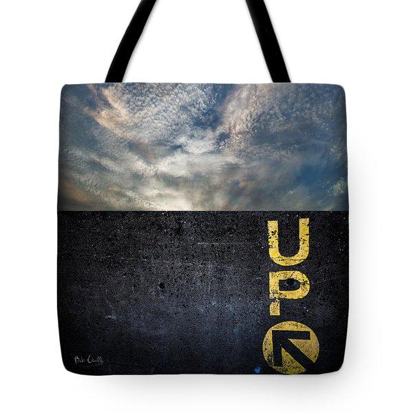 Up At Sunrise Tote Bag by Bob Orsillo
