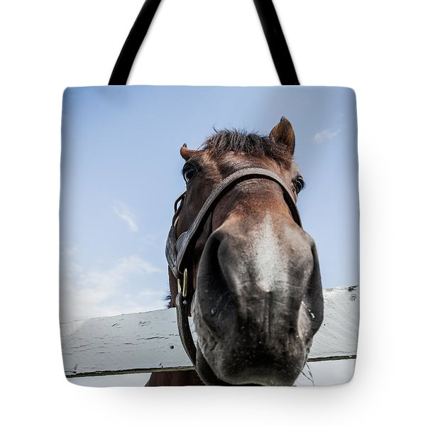 Up Close Tote Bag by Alexey Stiop