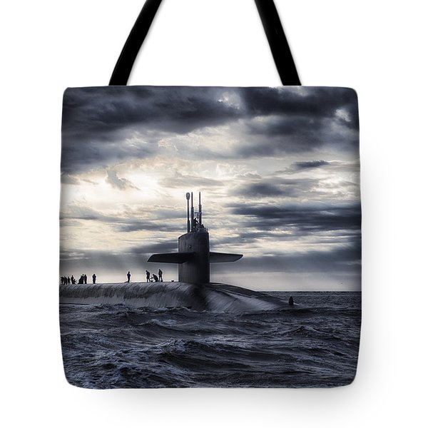 Up For Air Tote Bag