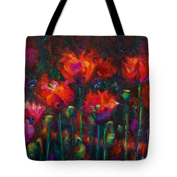 Up From The Ashes Tote Bag by Talya Johnson