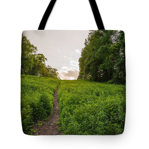 Up Hill Tote Bag