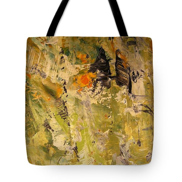Tote Bag featuring the painting Up In The Air by Nancy Kane Chapman