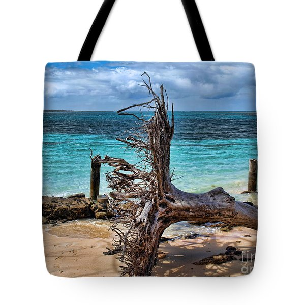 Tote Bag featuring the photograph Up Rooted by Trena Mara