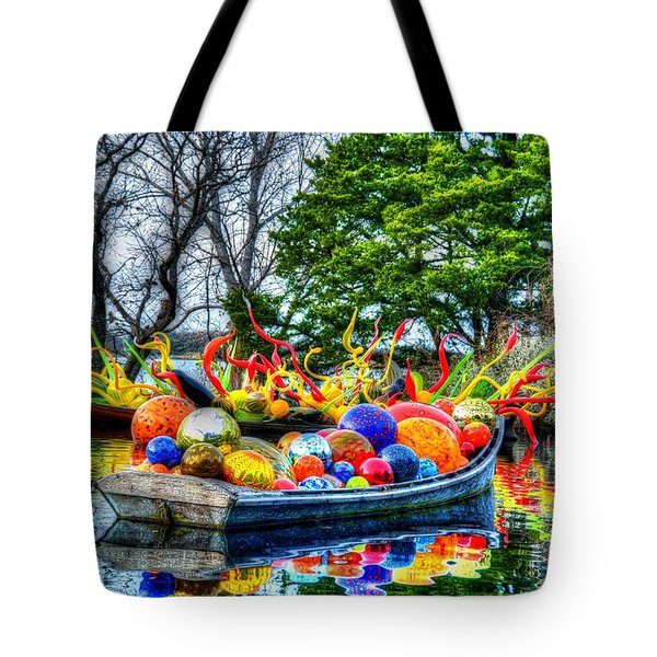 Up The Creek Without A Paddle Tote Bag by Debbi Granruth