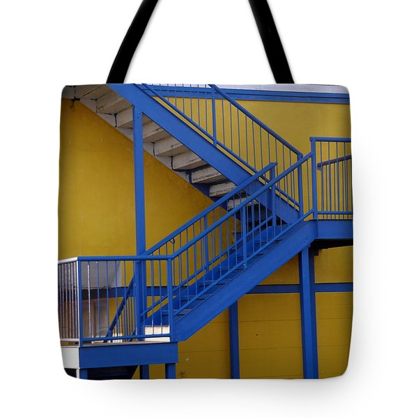 Up The Down Stairs 2 Tote Bag