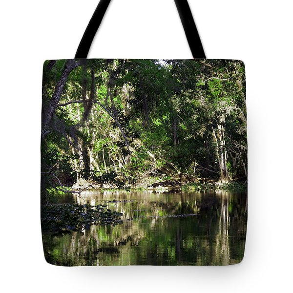 Up The Lazy River  Tote Bag