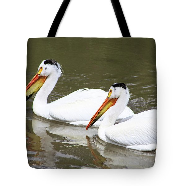 Tote Bag featuring the photograph Up The Oldman by Alyce Taylor