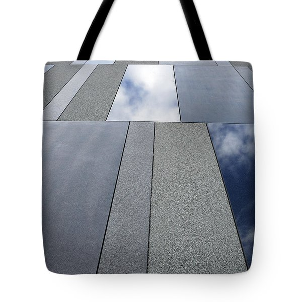 Up The Wall Tote Bag by Wendy Wilton