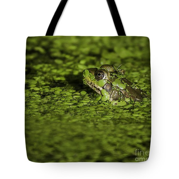 Up To My Neck Tote Bag