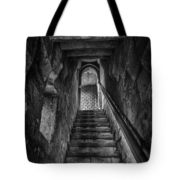 Up To The Walls Tote Bag