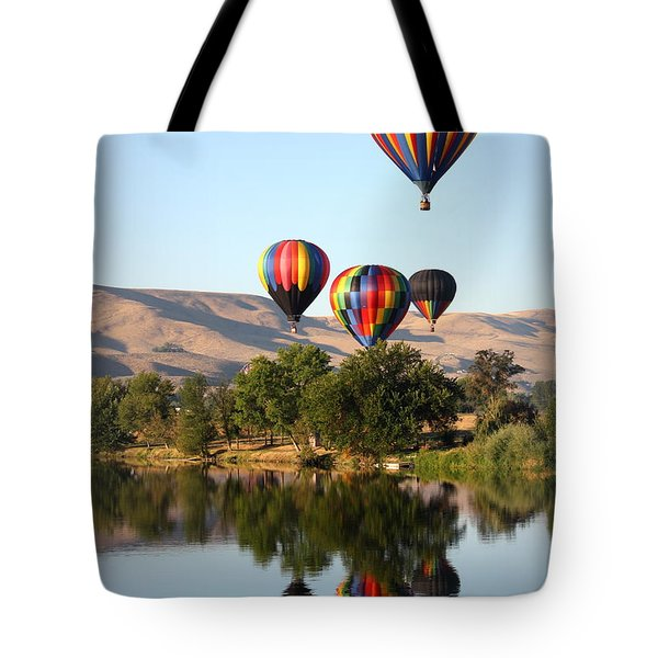 Up Up And Away Tote Bag by Carol Groenen