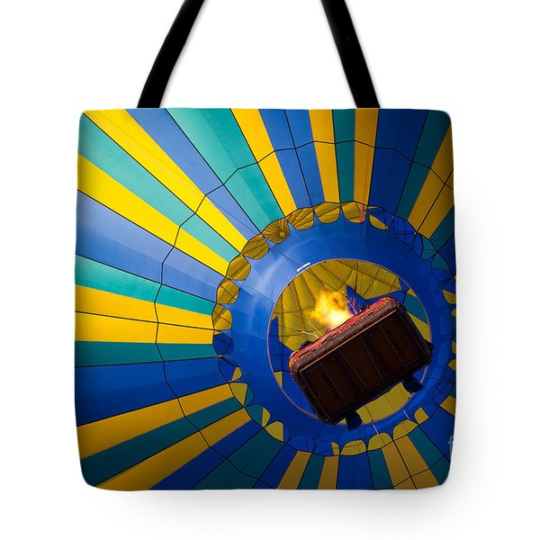 Up Up And Away Tote Bag by Inge Johnsson