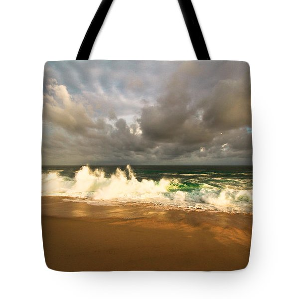 Tote Bag featuring the photograph Upcoming Tropical Storm by Eti Reid