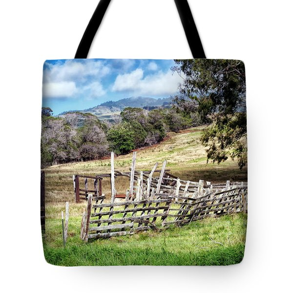 Upcountry 2 Tote Bag by Dawn Eshelman
